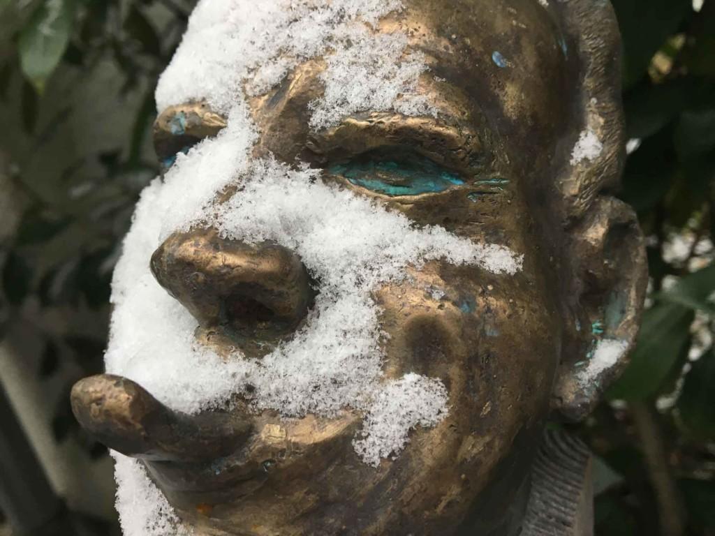 Tom-Tom II im Schnee